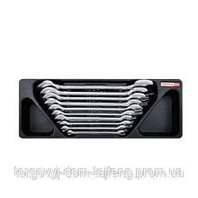 Набор ключей рожковых 6-27мм 10 ед. (в ложементе) TOPTUL GAAT1003
