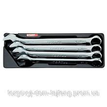 Набор рожково-накидных ключей 27-32мм 4ед.(в ложементе) TOPTUL GAAT0404