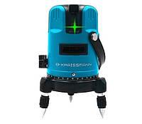 Лазерный уровень KRAISSMANN 5 LL 30 зеленый луч