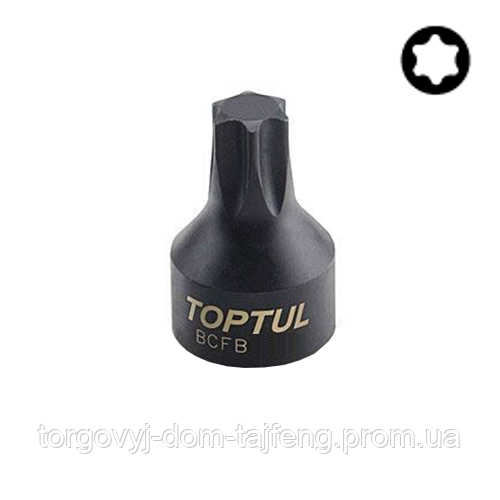 "Головка TORX TOPTUL T40 1/4"" (цілісна) BCFB0840"