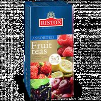 Чай Черный Фруктовое Ассорти 25 пакетиков Riston