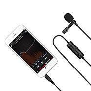 Микрофон петличка Puluz PU424 1,5м (3.5mm), фото 4