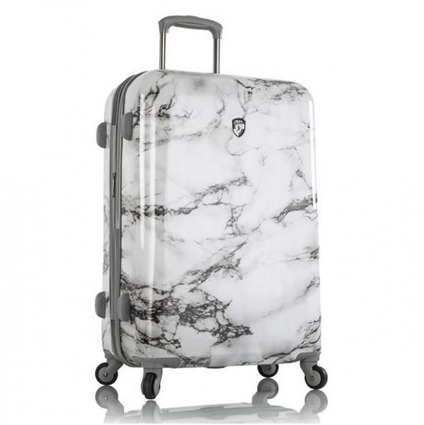 Чемодан Heys Bianco (M) White Marble