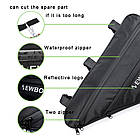 Велосипедна bikepacking похідна підрамна вантажна сумка NEWBOLER BAG0012 2.5 Л (для рам розміру 17+), фото 8