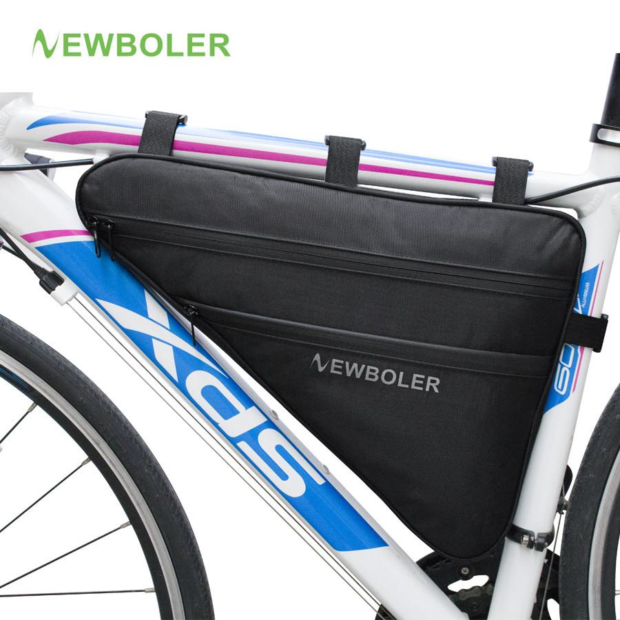 Велосипедна bikepacking похідна підрамна вантажна сумка NEWBOLER BAG0012 2.5 Л (для рам розміру 17+)