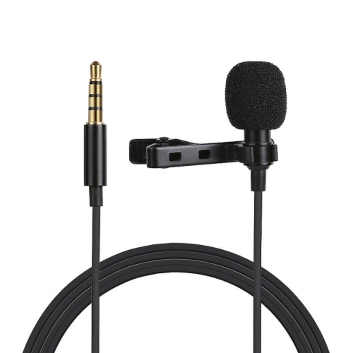 Микрофон для съемки - петличка Puluz PU424 1,5м (3.5mm)