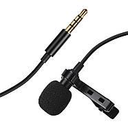 Микрофон для съемки - петличка Puluz PU424 1,5м (3.5mm), фото 3