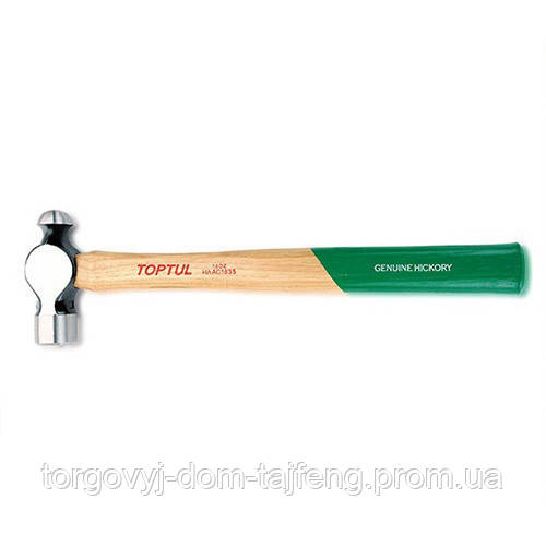 Молоток для кузовних робіт сферичний TOPTUL 1150г L416мм HAAC4042