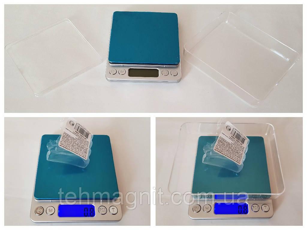 Весы ювелирные цифровые  Professional Digital Tabletop Scale 2000g/0.1g