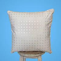 Подушка 50х50 Антиаллергенная 100% І Мягкая подушка для сна Эко Пух І Качественая подушка