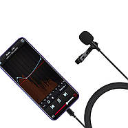 Микрофон для съемки - петличка Puluz PU425 1,5м (TYPE-C), фото 4
