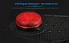 Сумка подседельная водостойкая из кожзама ROSWHEEL 131396 3-В-1 со встроенным габаритом и отделением для фляги, фото 3