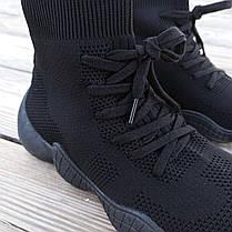Черные Adidas Yeezy 500 текстиль |КОПИЯ| женские кроссовки адидас изи 500 \ размеры: 36-41, фото 2