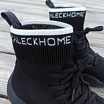 Черные Adidas Yeezy 500 текстиль |КОПИЯ| женские кроссовки адидас изи 500 \ размеры: 36-41, фото 3
