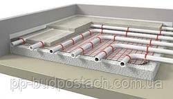 Монтаж водяної теплої підлоги