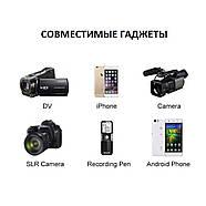 Микрофон для съемки - петличка Puluz PU426 1,5м (FOR IPHONE), фото 7