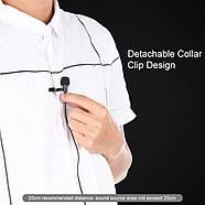 Микрофон для съемки - петличка Puluz PU426 1,5м (FOR IPHONE), фото 5