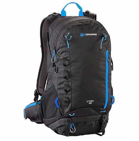 Рюкзак туристический Caribee X-Trek 40 Black/Ice Blue