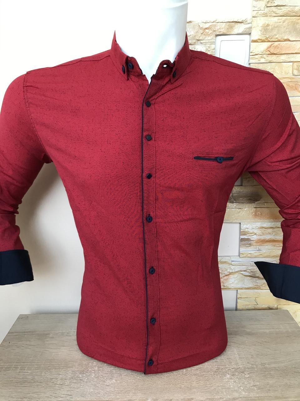 Рубашка длинный рукав G-Port*880 с принтом