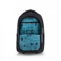 Сумка-рюкзак на колесах Gabol Saga 31L Black, фото 2