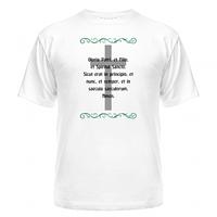 Майка Католический крест и молитва Gloria