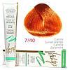 7/40 Краска для волос с экстрактами трав VITALITY'S Collection – Морковь , 100 мл