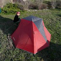 Палатка Ferrino Spectre 2 Red/Gray, фото 3