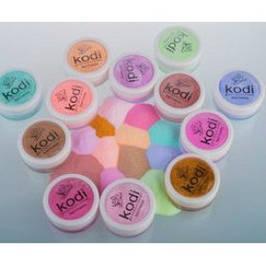 Цветные акрилы kodi professional 4,5 гр.