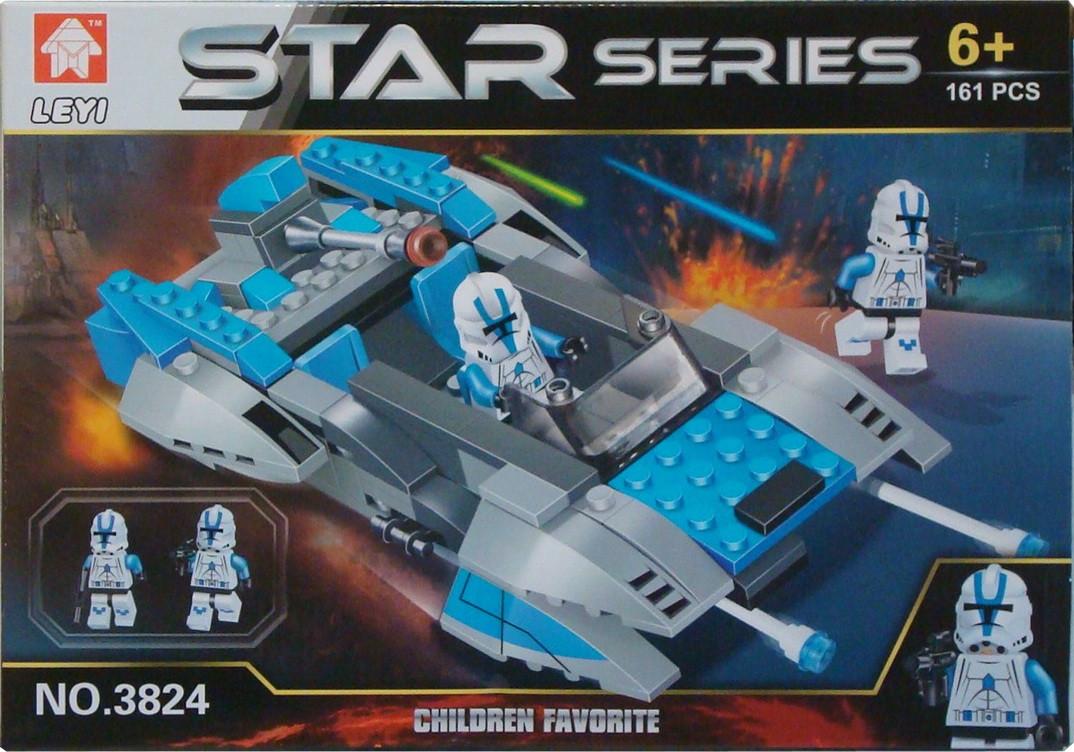 Star series космический корабль конструктор 3824