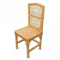 Плетеный стул из лозы