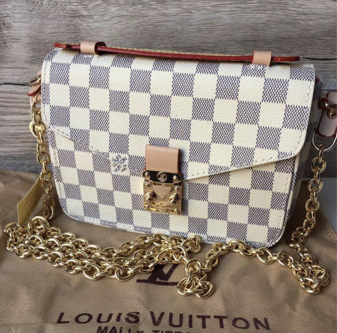 Сумка женская  Louis Vuitton Métis LV ( реплика луи витон) белая