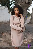 Платье ворот-хомут батал 726  (МЮ)