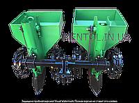 Картофелесажалка двухрядная ZV КСН-2МТ (90 л, на мототрактор, тяжелый мотоблок)