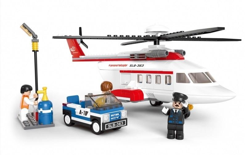 Конструктор SLUBAN серии Авиация Вертолет M38-B0363 259 деталей