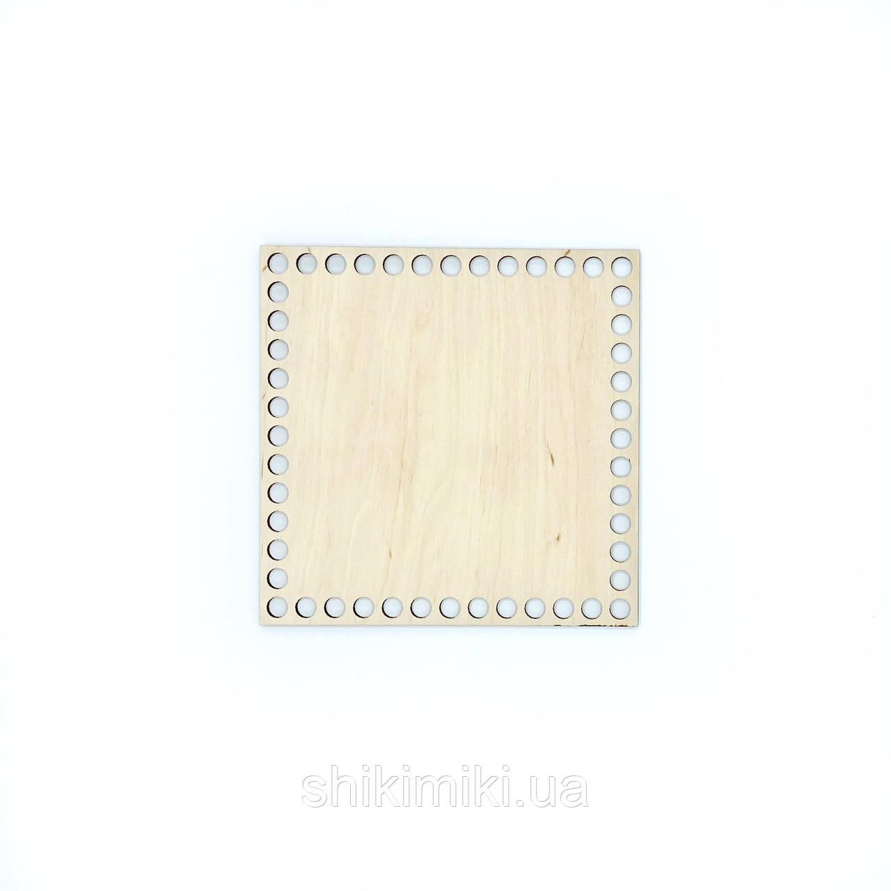 Заготовка из фанеры квадратная (14*14 см)