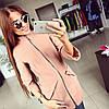 Женское стильное кашемировое пальто ♥Оригами♥