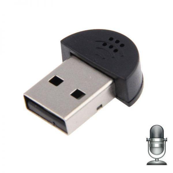 Мини USB микрофон для ноутбука