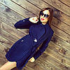 Женское красивое кашемировое пальто, разные цвета. Т-116, фото 2