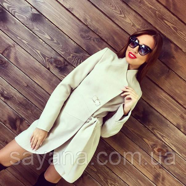 Женское красивое кашемировое пальто, разные цвета. Т-116