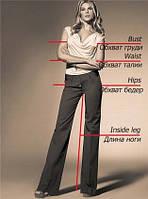 Размеры и маркировка одежды
