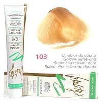 103 Краска для волос с экстрактами трав VITALITY'S Collection – Золотистый ультра блонд , 100 мл