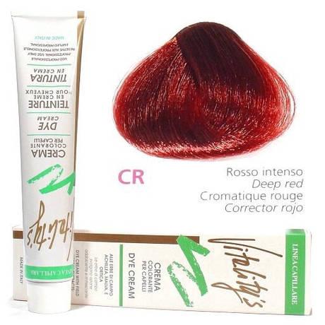 CR Краска для волос с экстрактами трав VITALITY'S Collection – Интенсивно-красный корректор , 100 мл