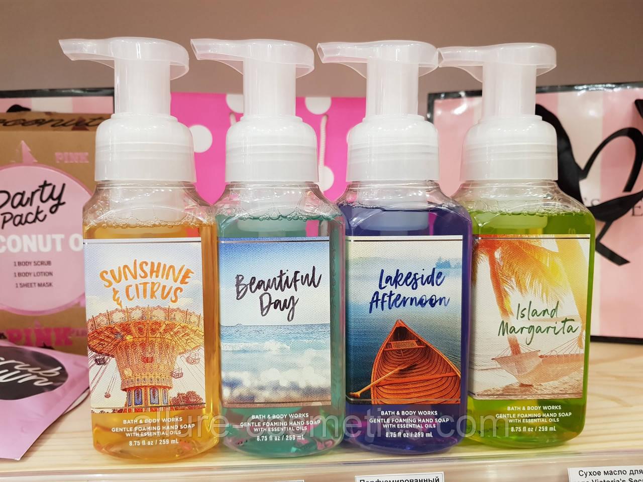 Нежнейшее мыло пенка для рук Bath & body works gentle foaming hand soap в ассортименте