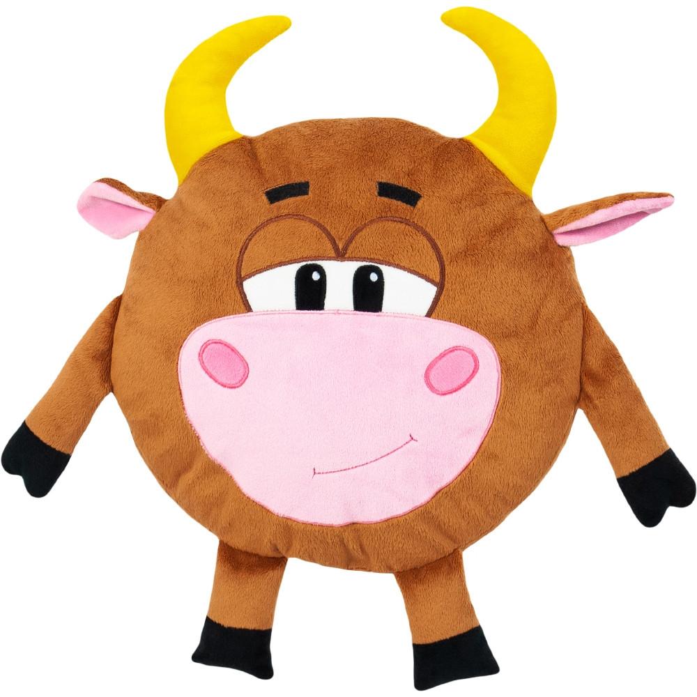 Мягкая игрушка Бык Символ года 2021 подушка