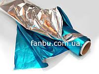 Полисилк на разрез,голубой( 1 лист 0.5м*1м)