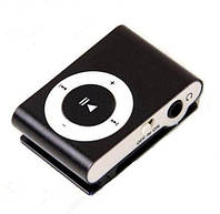 Мр3 плеер дизайн iPod Shuffle + наушники + кабель + коробка Black