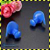 Беруши для плавания силиконовые Silenta Swim Pro, синий  цвет. Акция!