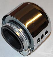 Фильтр нулевого сопротивления d=42mm с хромированным колпачком
