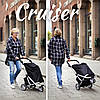 Сумка-тележка ShoppingCruiser 3 Wheels 40 Grey, фото 10