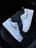 Кроссовки Nike Air Force 1 Low White Reflective, кроссовки найк аир форс 1 '07, кросівки Nike Air Force 1 '07, фото 5